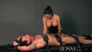 BDSM XXX Subs are slapped up and fucked and taught to enjoy it